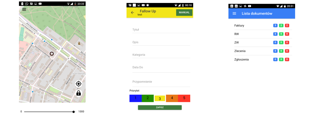 Aplikacje mobilne - przykłady